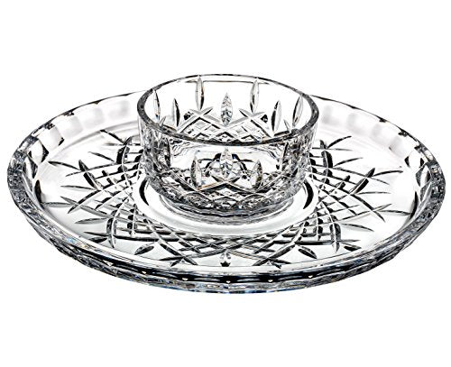 Waterford Crystal Chip and Dip 2-Piece Set