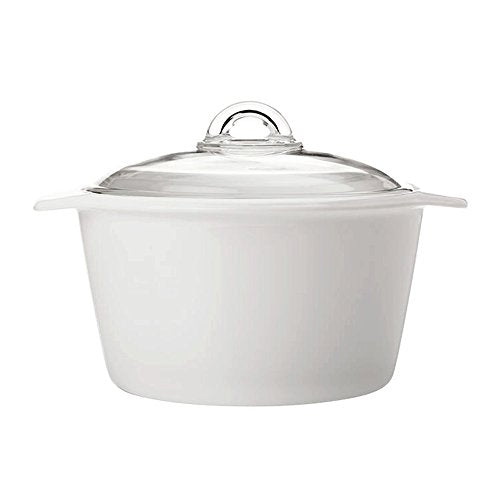 Maxwell & Williams VITROMAX Casserole Teglia Pot Glass ceramic and lid (5L)