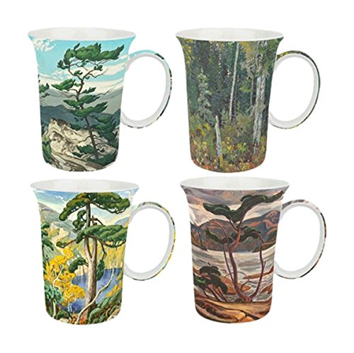 McIntosh Group of Seven Mugs (Set of 4), Multicolor