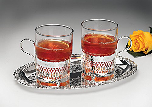 Queen Anne Tea Set 2-Cup and Tray