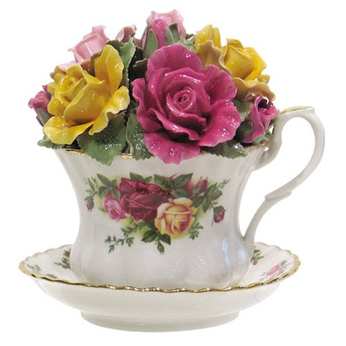 Royal Albert Old Country Rose Musical Teacup