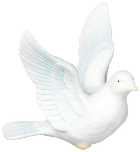 "CG B9024 3.5"" Dove Figurine Flying Christmas Ornament"