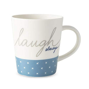 Laugh Always Mug 475ml By Ellen Degeneres 40033299 Gift Boxed