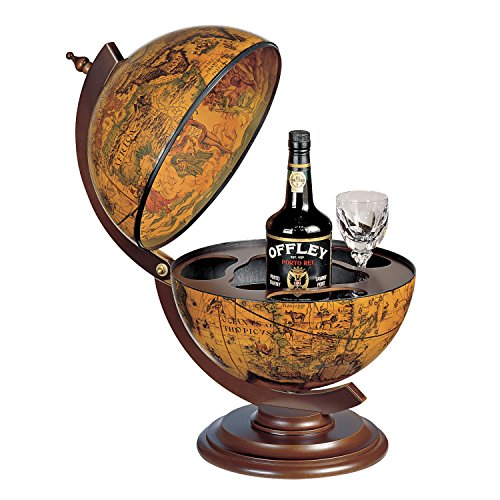 Desk Globe Bar 16th Century Hand Made in Italy