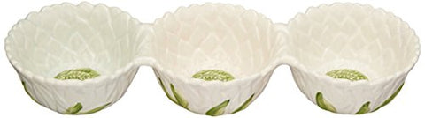 Mikasa Silk Floral Divided Server, 15-Inch