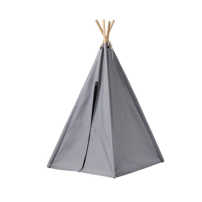 Kids Concept - Mini Tipi Tent Grey - Small - Daily Mind