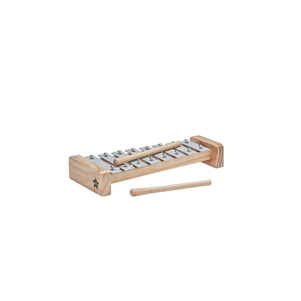 Grey Xylophone - Wooden Toy - Daily Mind