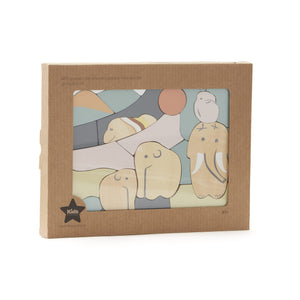Animal & Nature Wooden Puzzle - Daily Mind