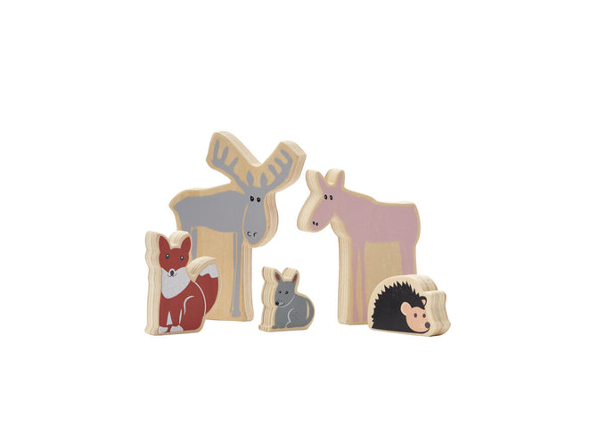 Woodland Animals Wooden Toy - Daily Mind