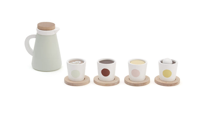 Tea Drinking Wooden Set - Daily Mind