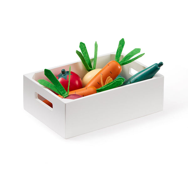Mixed Vegetable in Box - Wooden Toy - Daily Mind
