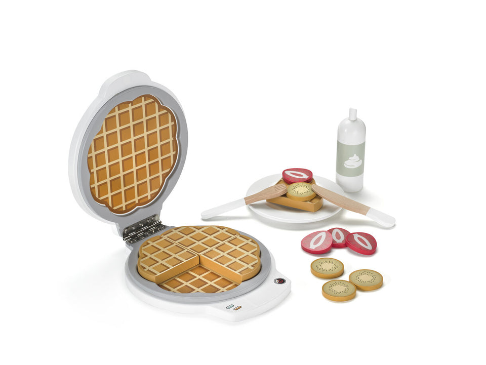 Waffle Iron Wooden Bistro - Daily Mind