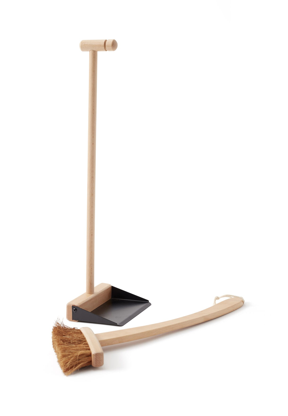Brush and Dustpan - Wooden Toy - Daily Mind