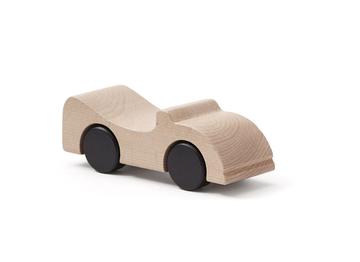 Car Cabriolet -Natural Wooden Toy in 100% Cotton Bag - Daily Mind