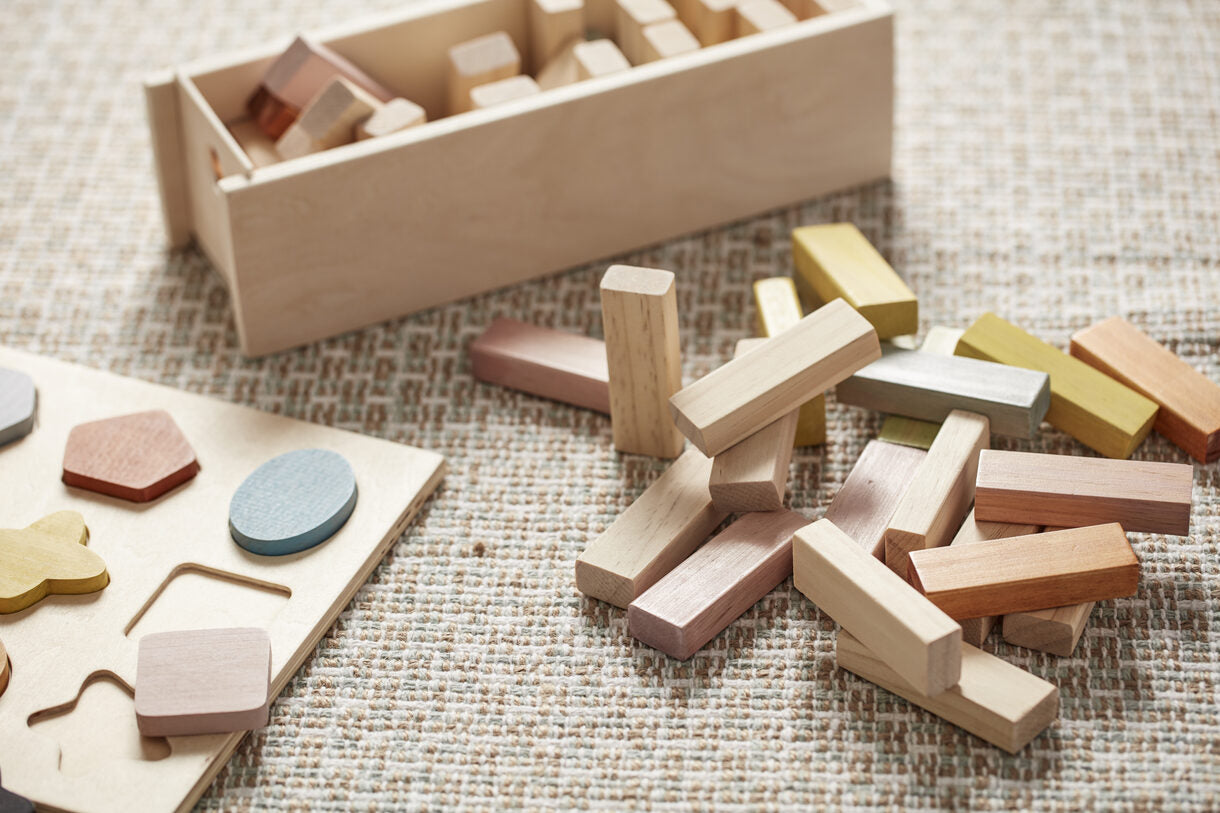 Building Wooden Blocks - Daily Mind