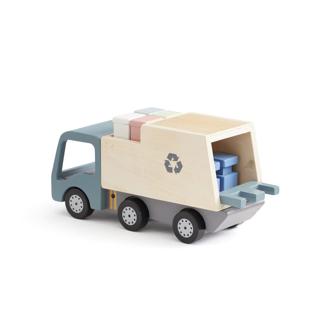 Garbage Truck AIDEN- Wooden Toy - Daily Mind