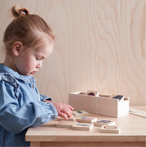 Memory Transport Game  - Wooden Toy - Daily Mind