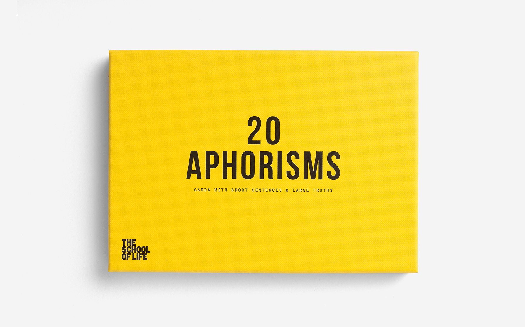 20 Aphorisms - Daily Mind