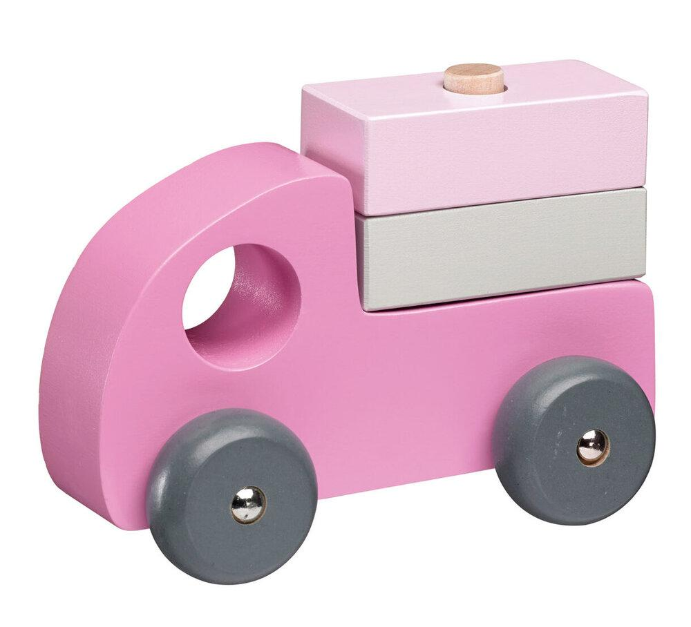 Pink Cars (Set of 3) - Wooden Set - Daily Mind