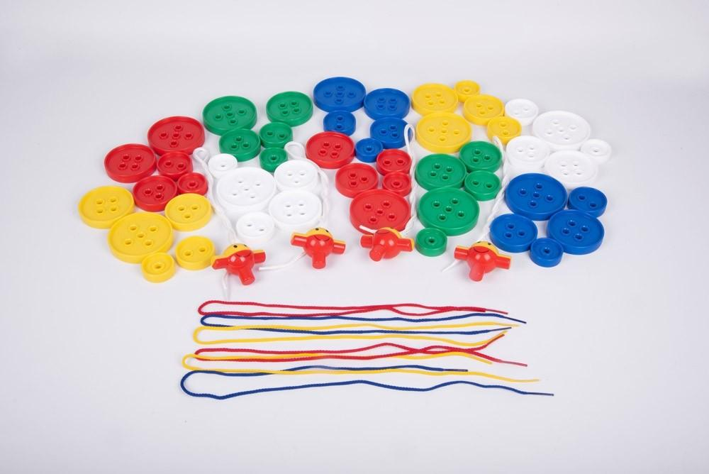 Giant Lacing Buttons - Pack of 54 - Daily Mind