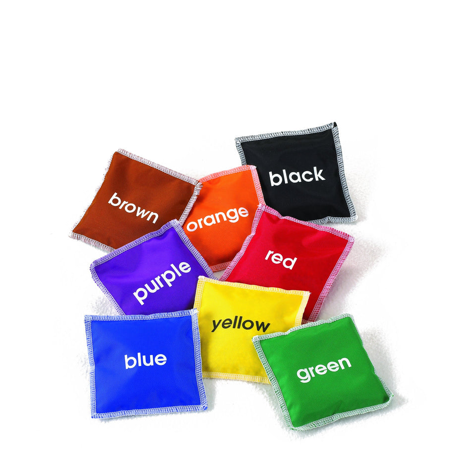 Colour Name Bean Bags - Pack of 8 - Daily Mind