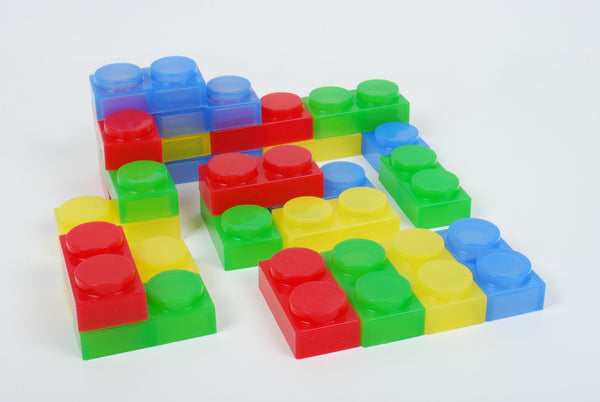 SiliShapes® Soft Bricks - Pk24 - Daily Mind