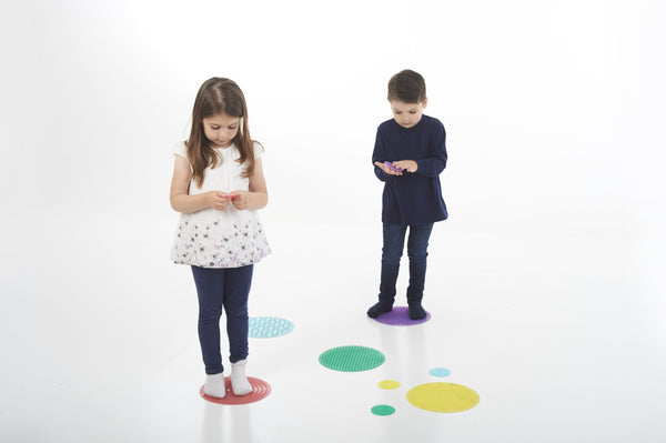 SiliShapes® Sensory Circle Set - Daily Mind