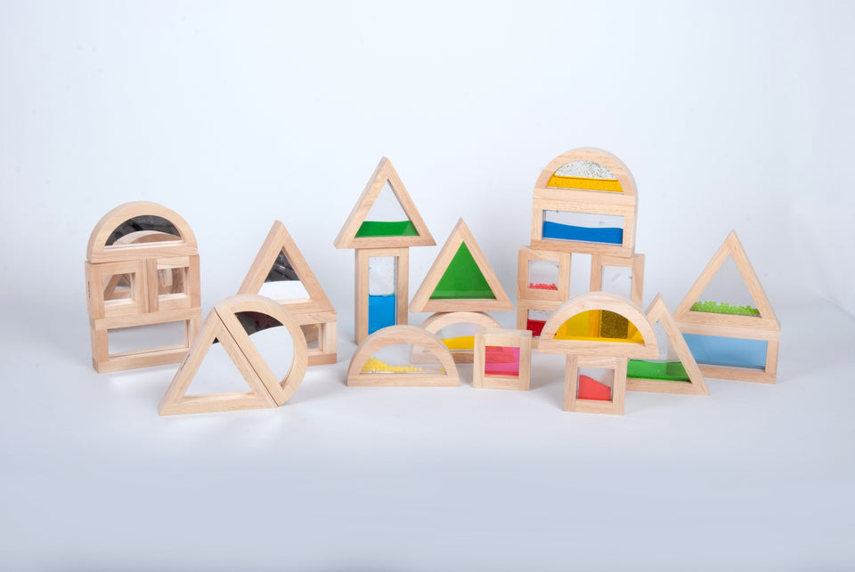 Large Mirror Block Set - 8 Pieces - Daily Mind