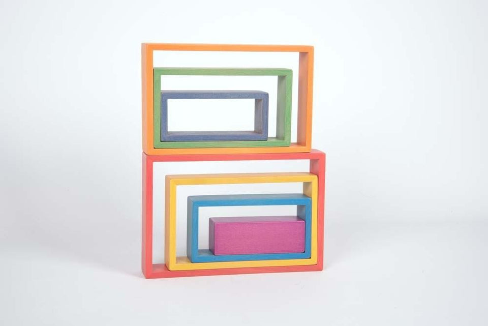 Rainbow Architect Rectangles - Pk7 - Daily Mind