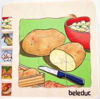Potato Wooden Puzzle 1 in 5 Layers - Daily Mind