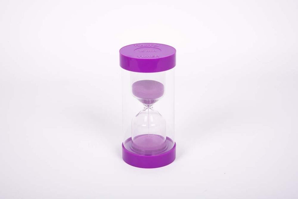TickiT - 15 Minutes Purple Plastic Sand Timer - Daily Mind