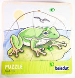 Frog Wooden Puzzle 1 in 5 Layers - Daily Mind