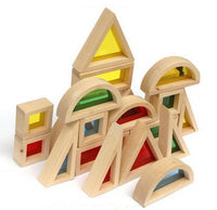 16  Big Sensory Wooden Blocks - Daily Mind