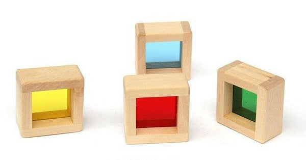 Big Sensory Wooden Blocks. Set of 16 - Daily Mind