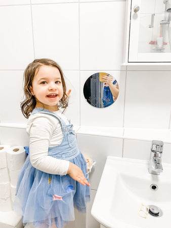 Wash Hands Mirror for Kids - Daily Mind