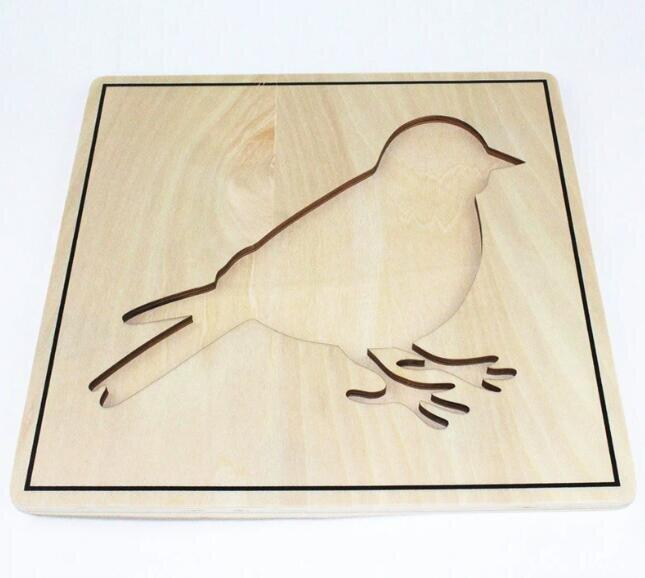 Bird Wooden Puzzle - Daily Mind