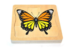 Butterfly Circle of Life Wooden Puzzle - Daily Mind