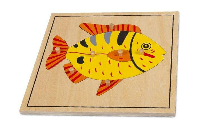Fish Wooden Puzzle - Daily Mind