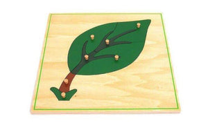 Leaf Wooden Puzzle - Daily Mind