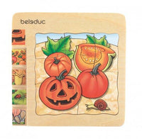 Pumpkin Wooden Puzzle 5 in 1  Layer - Daily Mind
