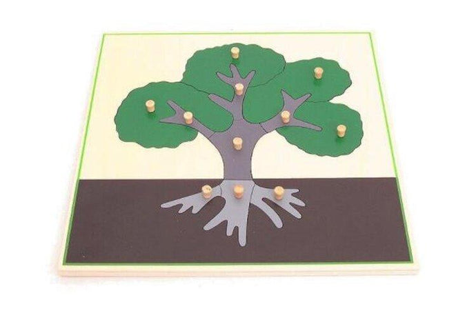Wooden Tree Puzzle - Daily Mind