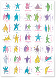 Sheet of Star Stickers - Daily Mind