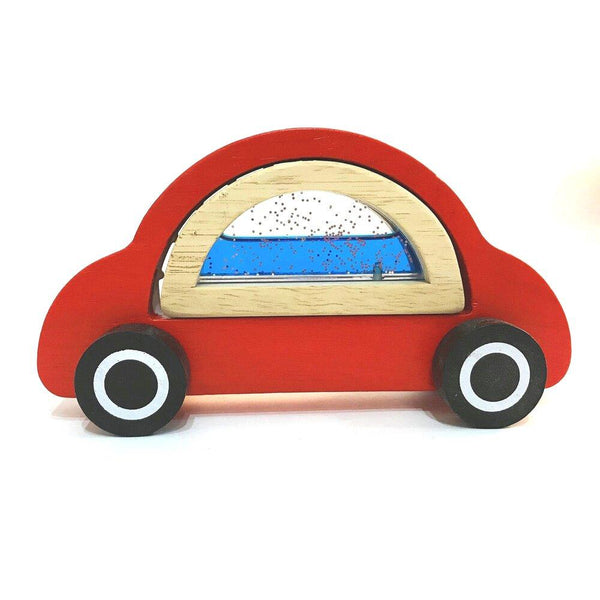 Handmade Sensory Wooden Car - Daily Mind
