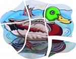 Duck Wooden Puzzle 28 pieces 1 in 5 Layers - Daily Mind