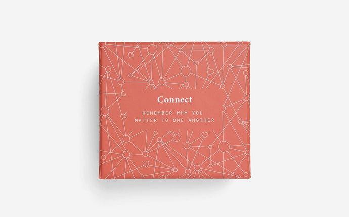 Connect - Game Card with Dice - Daily Mind
