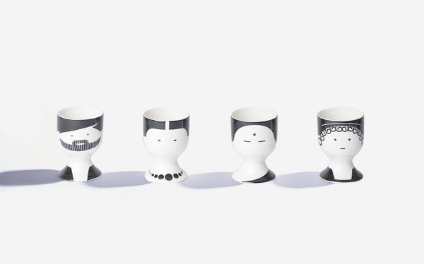 Egg Cup Philosophers - Daily Mind