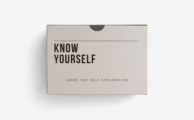 Know Yourself Prompt Cards - Daily Mind