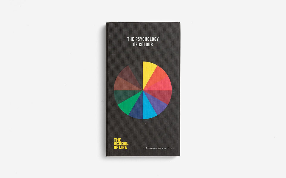 The Psychology of Colour Pencil Set - Daily Mind