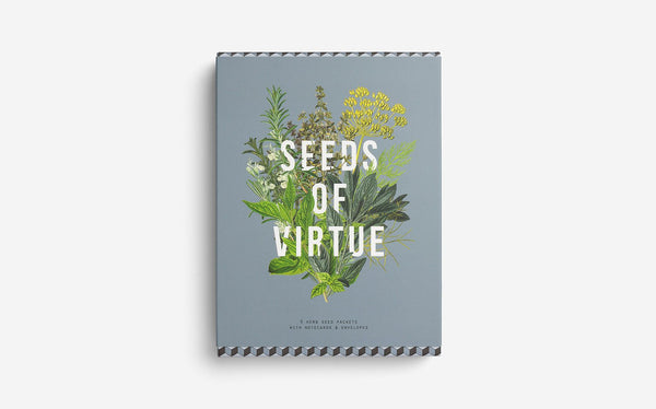 Seeds of Virtue Notecards: Herbs - Daily Mind