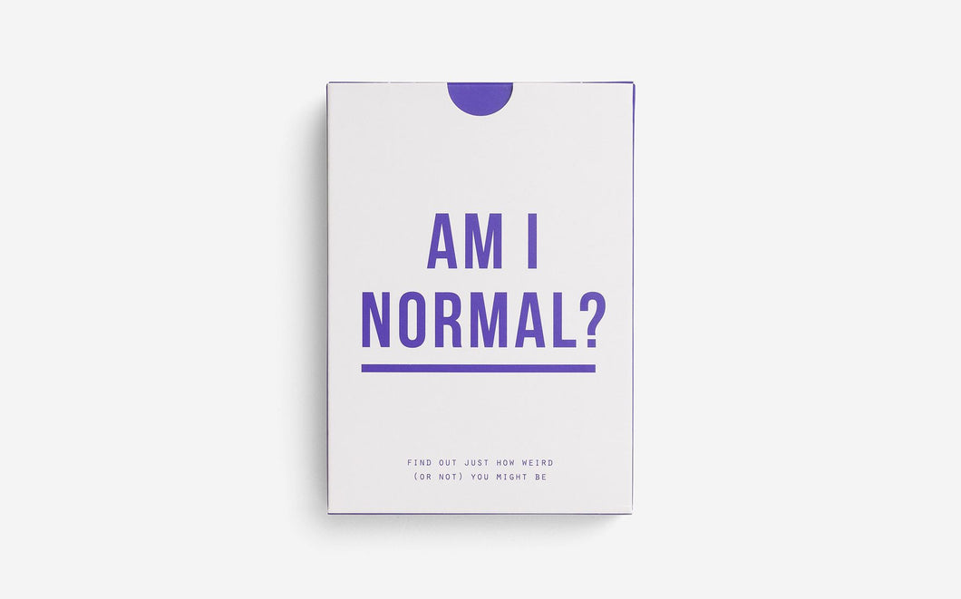 Am I Normal? Game Card Set - Daily Mind